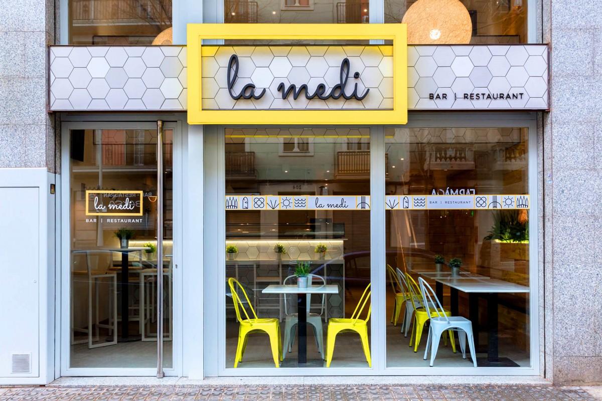 La Medi | Restaurante, Barcelona | Mutuo Estudio Creativo