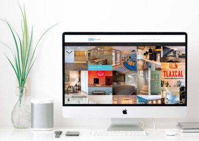 Web corporativa GEinteriorismo | Designed by MutuoEstudio